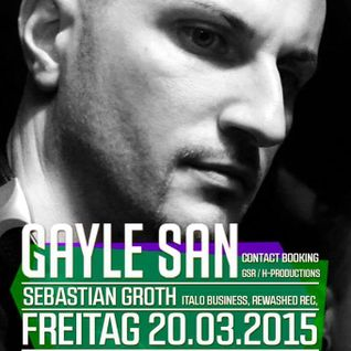 Herbman @ Kickdown with Gayle San 20.03.15 - Mainz.
