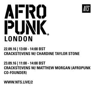 Afropunk: Crack Stevens in Conversation w/ Chardine Taylor Stone - 22nd September 2016