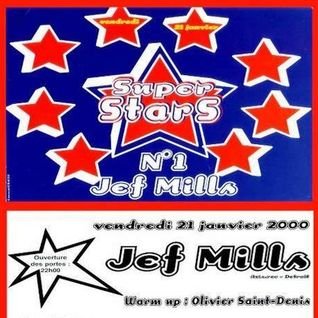 "Jeff Mills at ""Superstars N°1"" @ L'An-Fer (Dijon - France) - 21 January 2000"