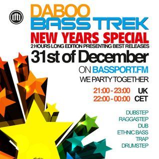 BASS TREK - New Years Special - with DJ Daboo on bassport.FM