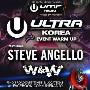 UMF Radio 265 - Steve Angello & W&W (Live Ultra 2014)