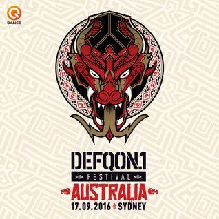 The Prophet (Early HC Set) | BLACK | Defqon.1 Australia 2016