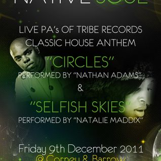 Native Soul - Friday 9th December 2011 @Corney & Barrow EC3N 2EX