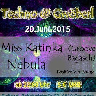 Miss Katinka b2b Nebula @ Positive Vibrations - The Hard Dance Acid Part - 20/06/2015