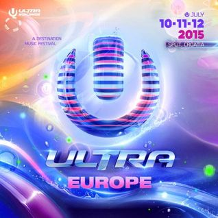 Carl Cox - Live @ Ultra Europe 2015 (Split, Croatia) - 11.07.2015