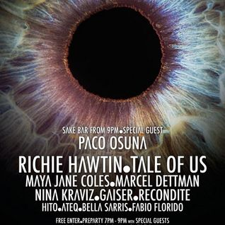 Richie Hawtin - Live At ENTER.Main Week 14 Closing Party, Space (Ibiza) - 03-Oct-2014