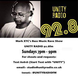 Mark XTC's Bass Music Rave Show 27_09_2015_Unity Radio DAB