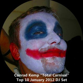 Conrad Kemp ''Total Carnival'' Top 10 January 2012 DJ Set for www.szokujacy.pl