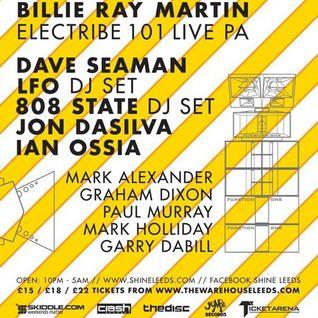 Ian Ossia - Shine DJ Set 04-07-15