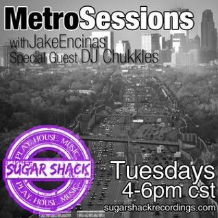 """Live Podcast Mix """"Metro Sessions"""" Sugar Shack Recordings Mix is about 1 hour 10 mins long"""