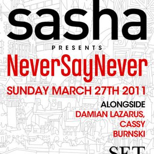 Sasha - Live at SET Nightclub, Miami, WMC (27-03-2011)