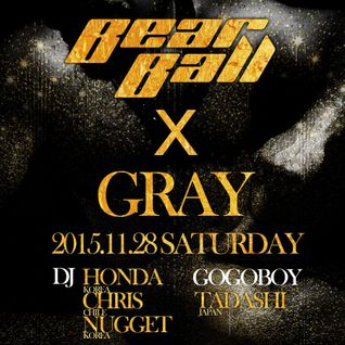 HONDA GSK - Bear Ball X GRAY