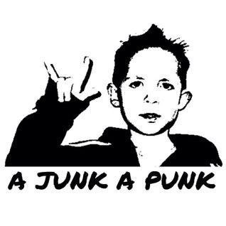 California Bear on A Junk A Punk