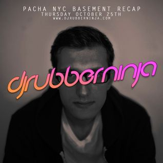 Pacha NYC Basement Recap - October 25th 2012