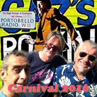 Portobello Radio Ep 72 with Chris Sullivan Piers Thompson & Greg Weir: Notting Hill Carnival Special