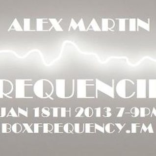 FREQUENCIES Jan 18th 2013