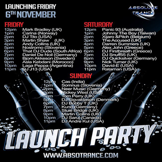 Nick Turner - Guest Mix / Absolute Trance Radio Launch Weekend