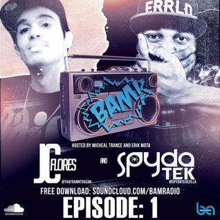 The Blend Artists DJ S.P.Y.D.A.T.E.K. & JC Flores Kick off BAM RADIO EPISODE 1
