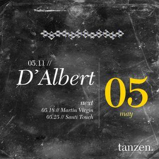 Tanzen. Guest Mix: D'Albert (2012-05-11)