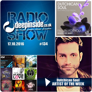 DEEPINSIDE RADIO SHOW 134 (Dutchican Soul Artist of the week)