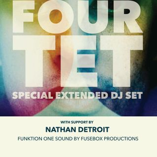 That One Time I Opened for Four Tet