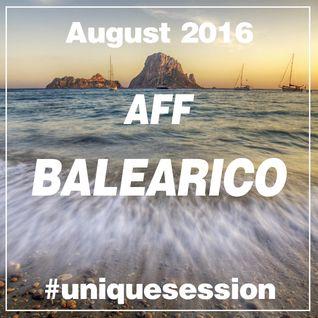 2016 AUGUST - AFF BALEARICO Unique Session