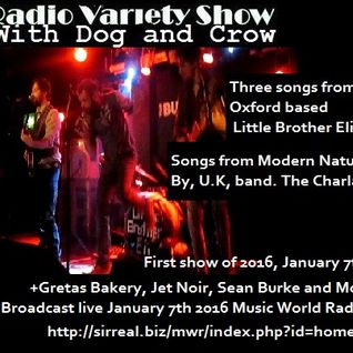 The Dog and Crow Show: Little Brother Eli, The Charlatans, Jet Noir and much more