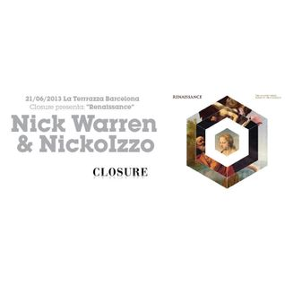 Nick Warren and NIckoIzzo - b2b at Renaissance Party, LaTerrrazza, Barcelona (21-06-2013)
