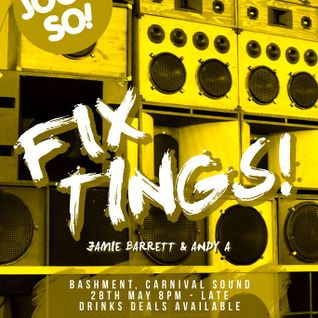 Jook So Fix tings Live Recording EVENT Andy A + J Barretta old hat essex southend on sea