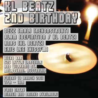 Alam & Dezz B2B @ KL Beatz 2nd Birthday, Biero Melbourne 18.03.11 (Part1)