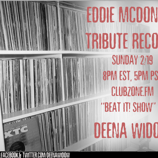DeenaWidow EddieMcDonald Live Interview & Fire Set Clubzone.fm Radio