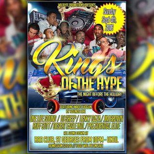 KINGS OF THE HYPE @RAA CLUB SEPT 4 2016