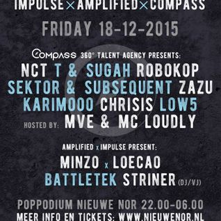 BattleteK - 'SERIOUS D&B PROMO MIX' Impulse x Amplified x Compass Agency 18-12-2015