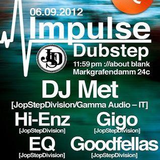 Gigo @ Impulse Dubstep - ://about blank Berlin - 06.09.2012