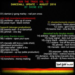 run the track vol 12... dancehall update august 2016