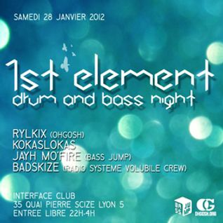 1st Element - Drum & Bass Nights