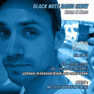 Black Note Radio Show 9/10/13 - Guest Mc Fly