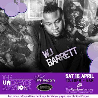 WJ BARRETT recorded LIVE @ Eurotika 16/4/16 @ Rainbow Venues, Birmingham, UK Garage Mix