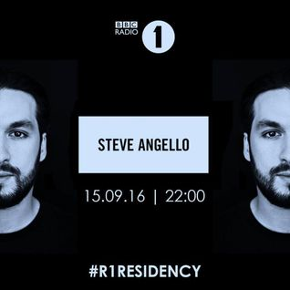 BBC Radio 1's Residency Steve Angello 15 September 2016
