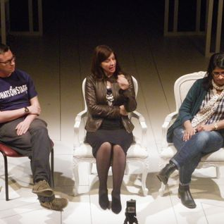 WhatsOnStage Q&A with Handbagged's writer Moira Buffini and director Indhu Rubasingham