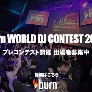 Pizza Bozz!! burn WORLD DJ CONTST 2014
