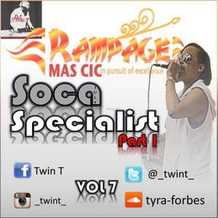 July Soca Mix:- Soca Specialist Part 1 Vol 7