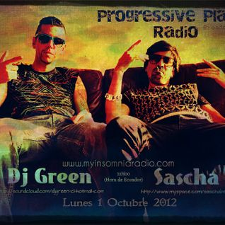 Sascha - Progressive Planet Radio Broadcast #035 Dj Green Birthday Sept 2012