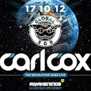 Carl Cox - Live from Studio @ Gashouder Amsterdam, ADE 2012 - 17.10.2012