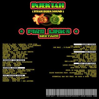 INJEKTAH [fiyah burn sound] - Fire Links [mixtape] [2006]