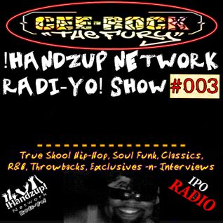 !HANDZUP! NETWORK RADI-YO! Show (on IPOradio.com) -[EPISODE: #003]-