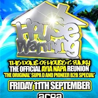 SUPA D B2B PIONEER - SUMMER 09 HOUSE WARMING MIX