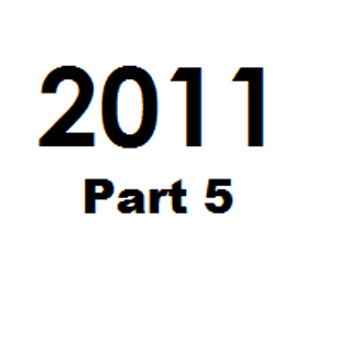 Great Tunes of 2011 - Part 5