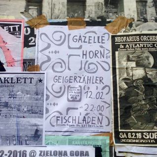 Gazelle Horn x Geigerzähler @ Fischladen Berlin