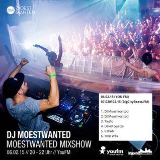 Moestwanted Mixshow on BigCityBeats / YouFM – 07.02.2015
